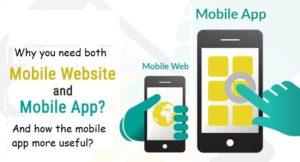 Mobile friendly vs mobile app
